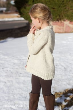 Snowy Shore Cardigan 7
