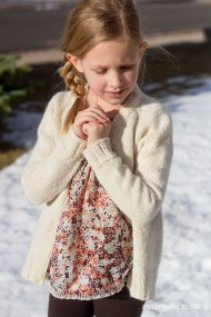 Snowy Shore Cardigan 1