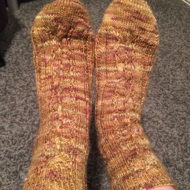FO Pumpkin Spice Latte Socks