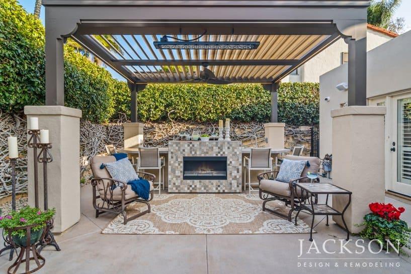 backyard design patio designs