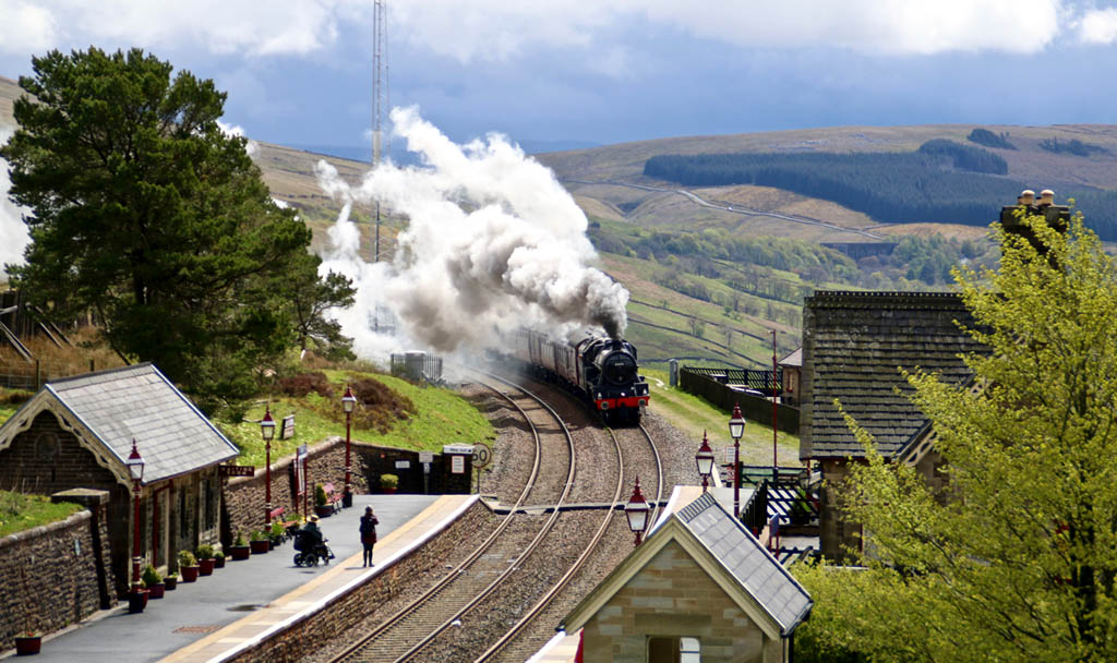 Further up the Settle-Carlisle line at Dent