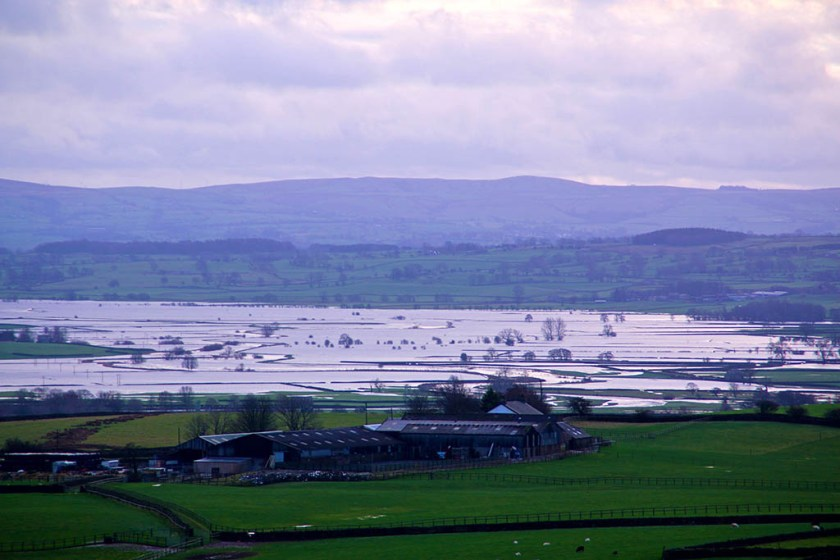 floods lake ribble