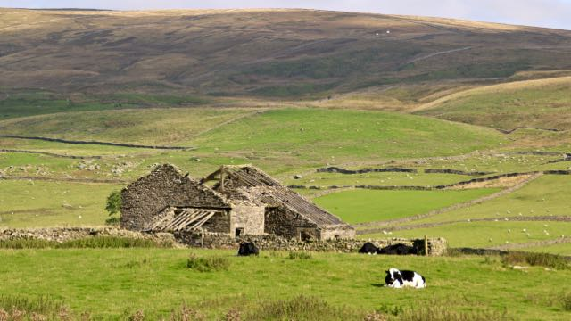 Old barn Ribblesdale
