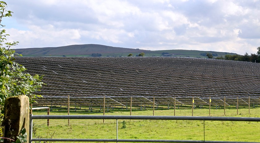 Dales solarpanels