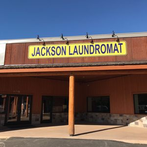 Jackson Laundromat front entrance