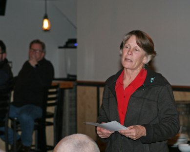 Peggy Tosdal, Acting Manager for Golf and Tennis, Seattle Parks