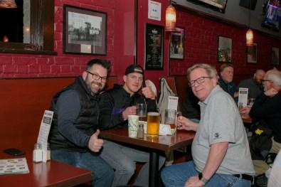 Nick Cail, Erik and Dan Petersen