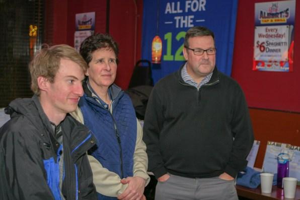 Travis Jones, Kathy, Ryan
