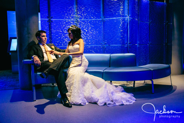 Michele And Jonathan S Wedding At The Baltimore Aquarium Jackson Photography Modern Wedding