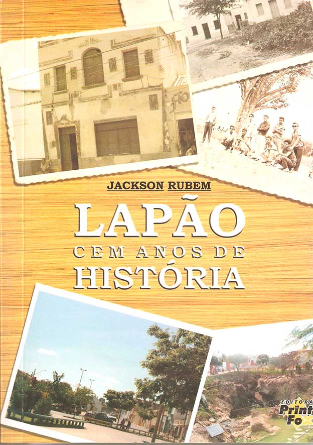 Capa_livro  com a história de Lapão