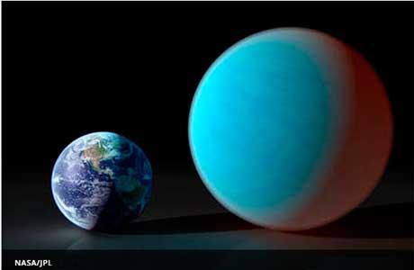 Novos planetas descobertos : a super-terra quente como inferno