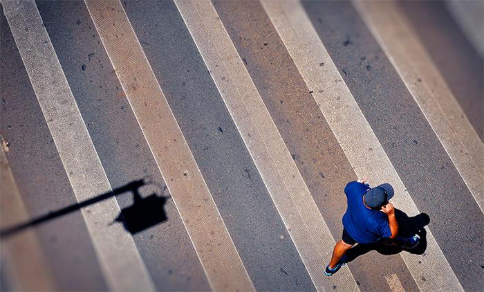 Brasília Faixa de Pedestres - Foto