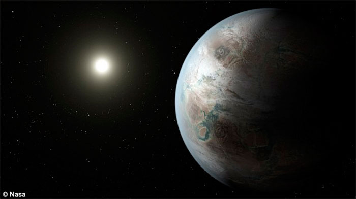 A NASA encontra outro planeta Terra no céu e pode ter vida