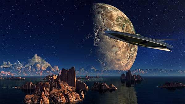 Imagem relacionada ao misterioso programa OVNI do Pentágono