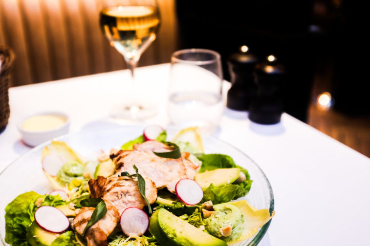 Jackson + Rye Brasserie - Warm Chicken And Avocado Salad_3
