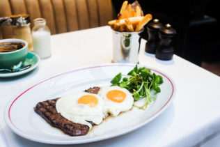 Jackson + Rye Brasserie - Steak & Eggs
