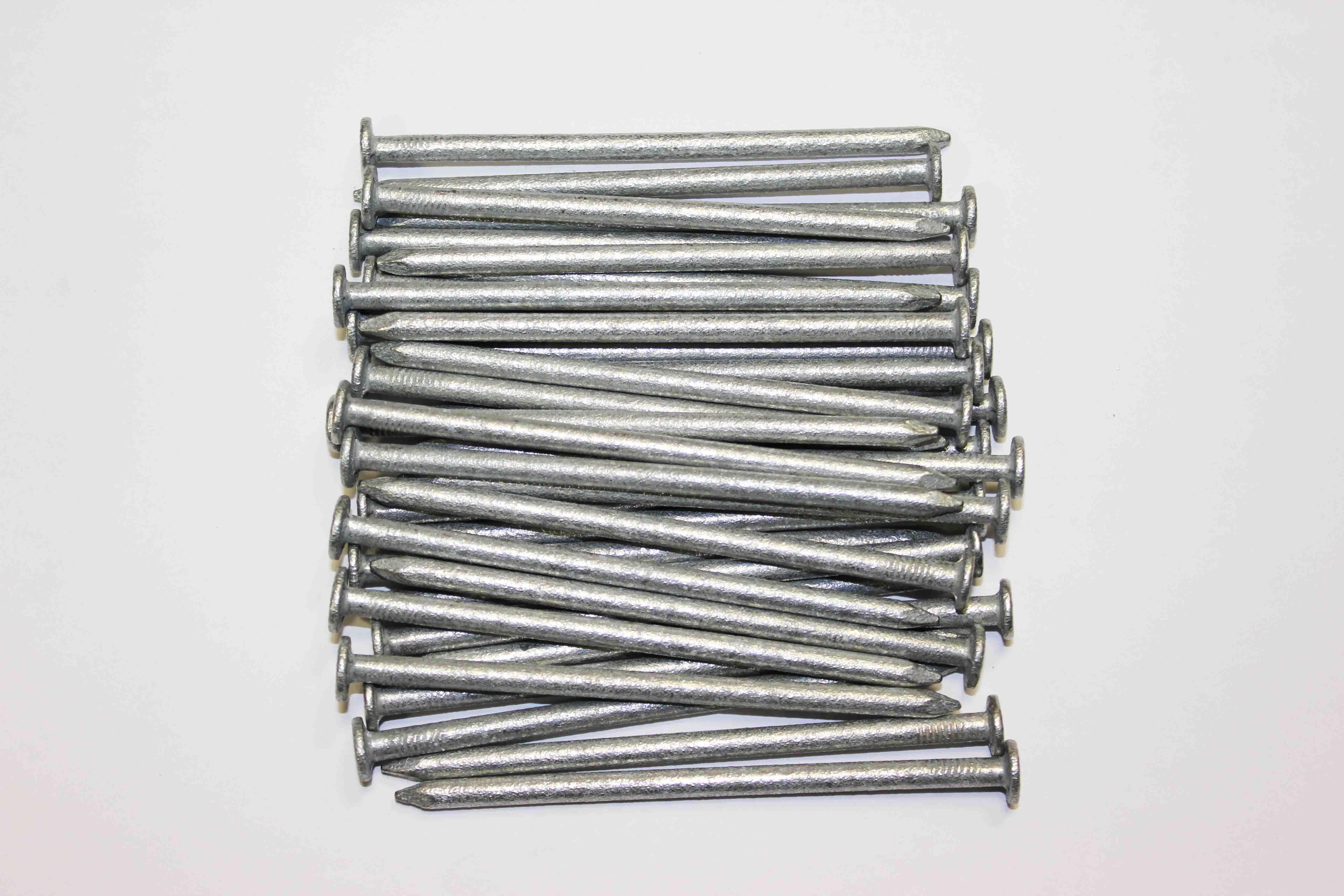 0 5kg Pack100mm 4 Nails Galvanized Round Wire 4 50mm
