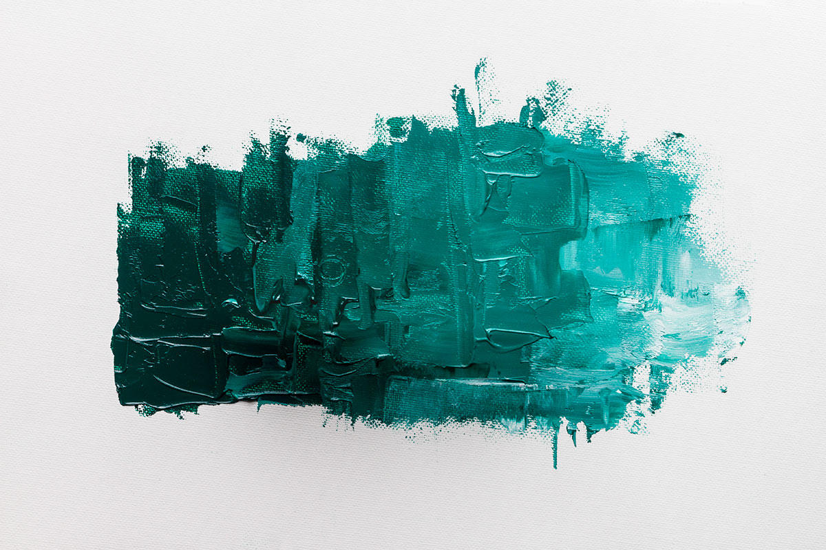 Colour Mixing With Williamsburg Viridian Oil Paint
