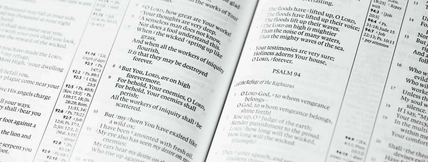Songs of Praise: Psalm 109   First United Methodist