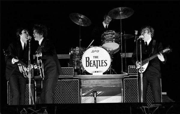 1964 - The BEATLES performed at Jacksonville's Gator Bowl on September 11, 1964. The concert was originally scheduled for Thursday 9/10, the day the city suffered a direct hit from Hurricane Dora.