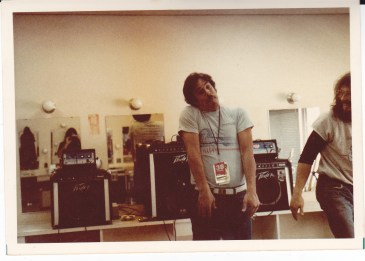 Fuf and Conan in Tuning Room 1984