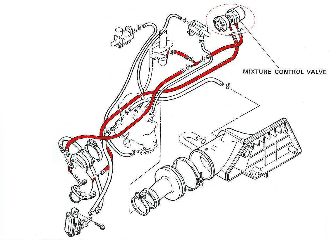 50cc Scooter Carb Hose Diagram