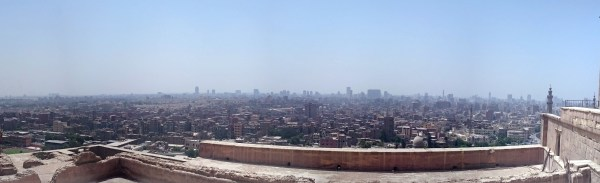 Cairo Skyline from Mosque of Mohamed Ali