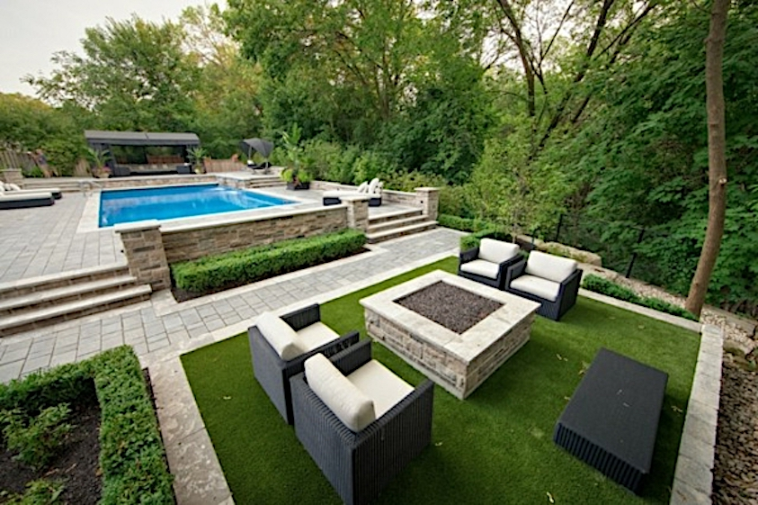 artificial turf as carpet for outdoor