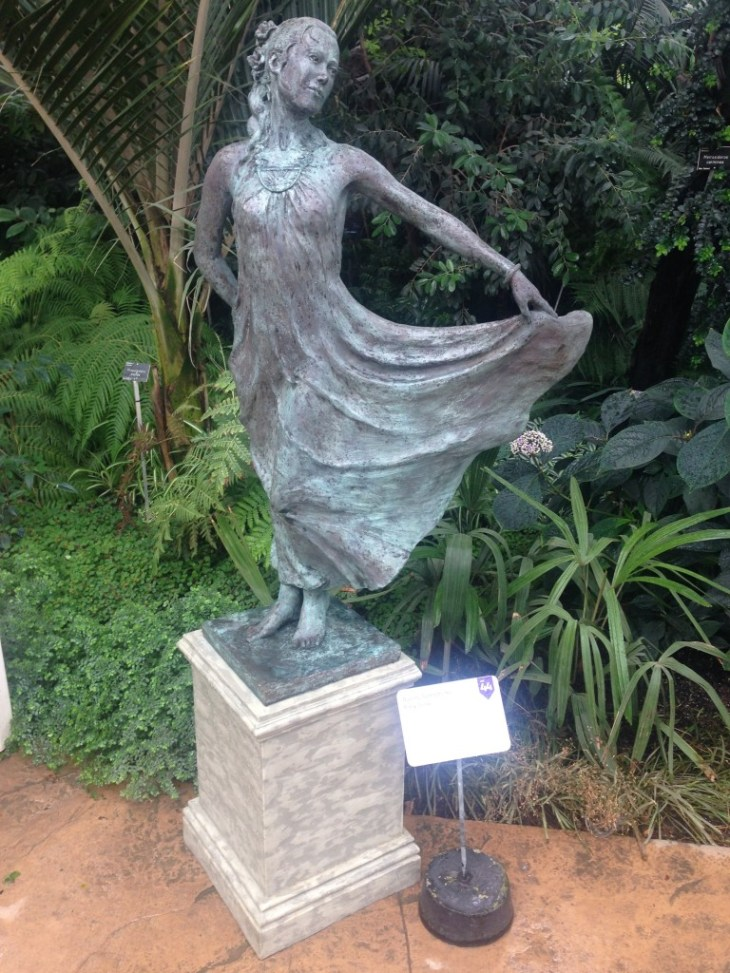 Sculpture trail at RHS Wisley September 2014