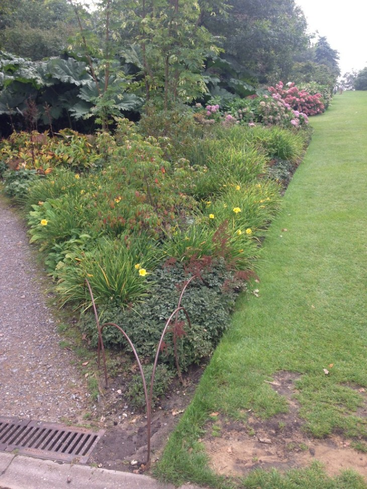 Beautiful Autumn borders - RHS Wisley September 2014
