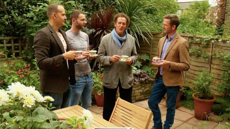 Jack Wallington Big Dreams, Small Spaces, Monty Don and Nick Bailey