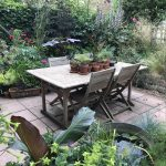 Rearrange: the benefit of a patio of pots!