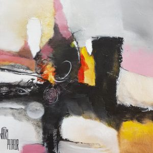 Création N°7 40 x 40 cm
