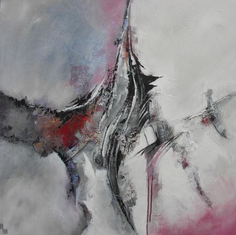 Création N°2 - 100 X 100 cm