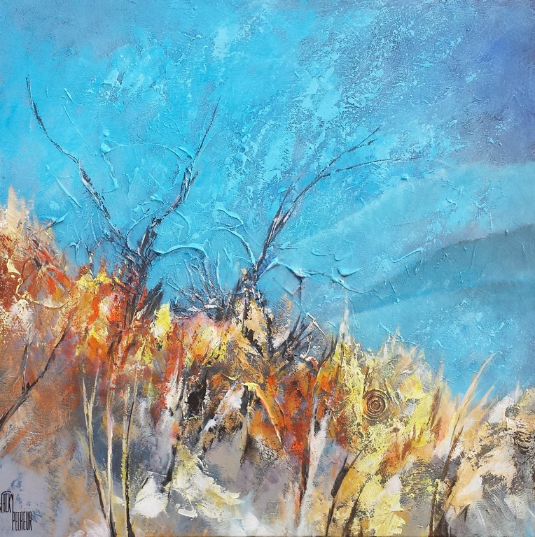 Douceur de Paysage - 60x60 cm