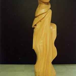 Vierge - 50 cm Buis