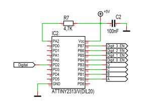 Microcontroller wiring