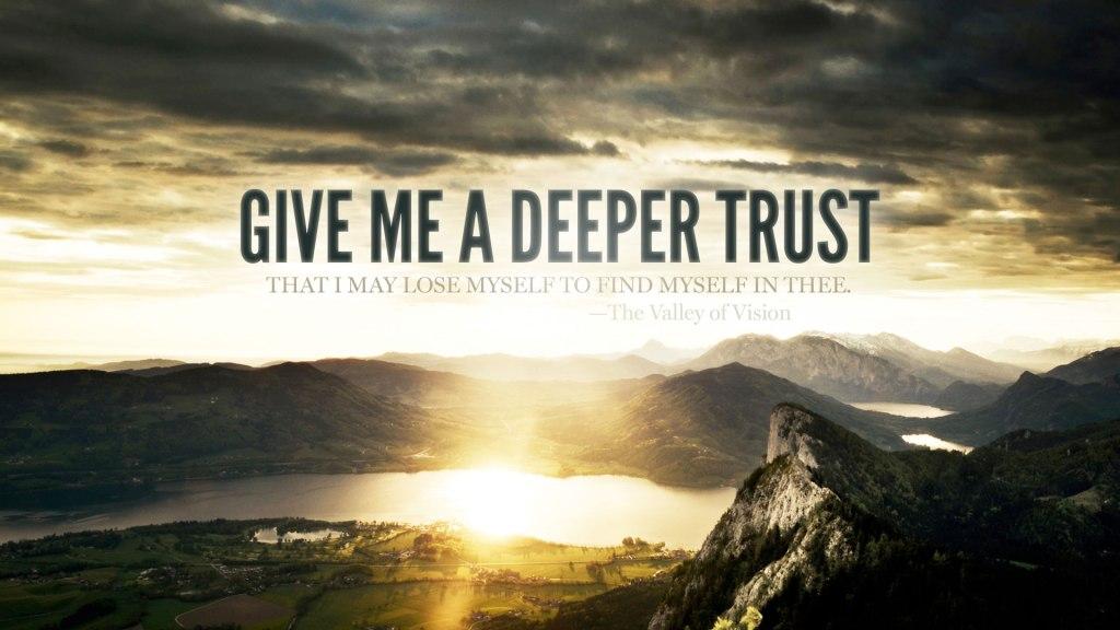Wednesday Wallpaper Deeper Trust Jacob Abshire