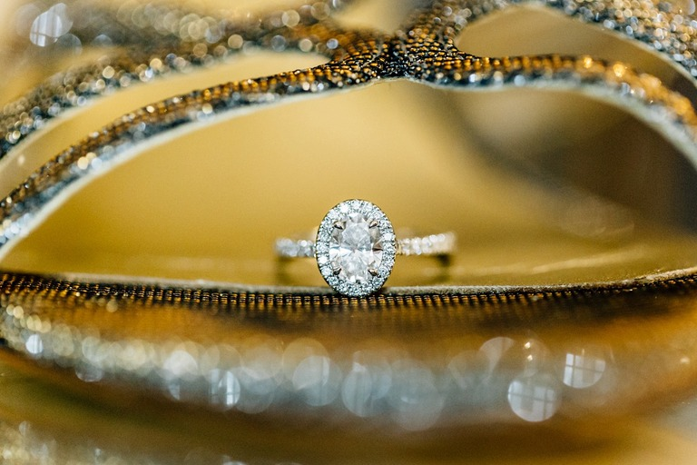 Wedding Ring at the Dorchester Hotel in London