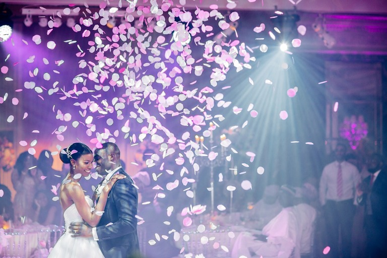 First Dance on the Wedding at the Dorchester Hotel in London