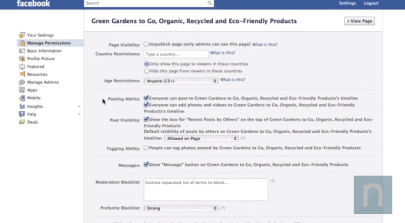 how to remove recent posts by others on Facebook