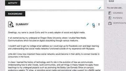 adding linked media