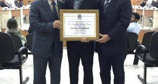 Resultado de imagem para Gerente Regional do Sebrae recebe título de Cidadão Jacobinense