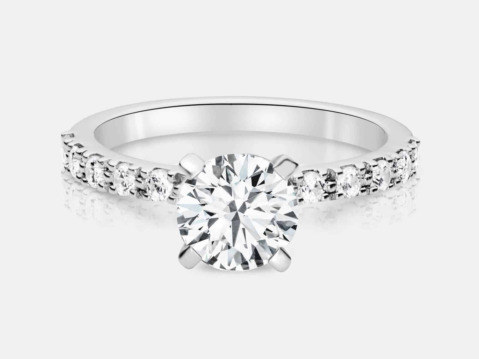 flower designs jewelry rings unique blog ct at platinum diamond vidar engagement ring