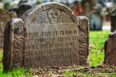 Granary burial ground, honorable mention for best pic of the year