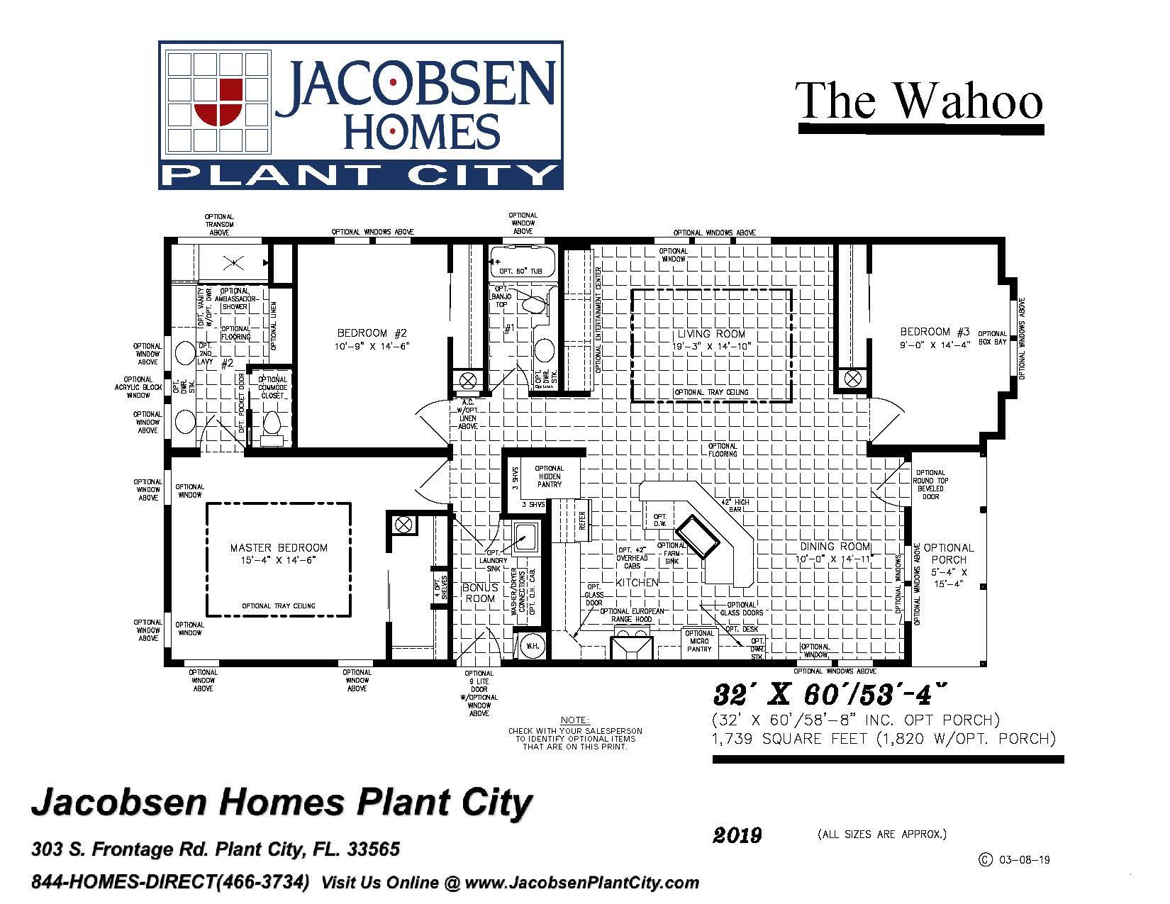 Jacobsen Modular Homes Floor Plans