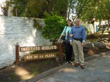 Brent and Bonnie Johnson in Argentina