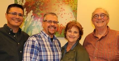 Jacob's Hope team members in Israel