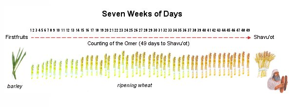 """May 2019 Prayer Points – """"Counting the Omer"""""""