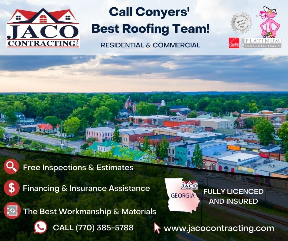 JACO Contracting for Roof Inspections Conyers